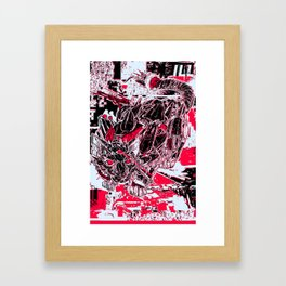 RoboCat Framed Art Print