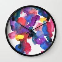 bridge Wall Clocks featuring Bridge by Georgiana Paraschiv