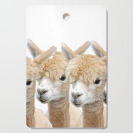 Alpaca Line Up Cutting Board
