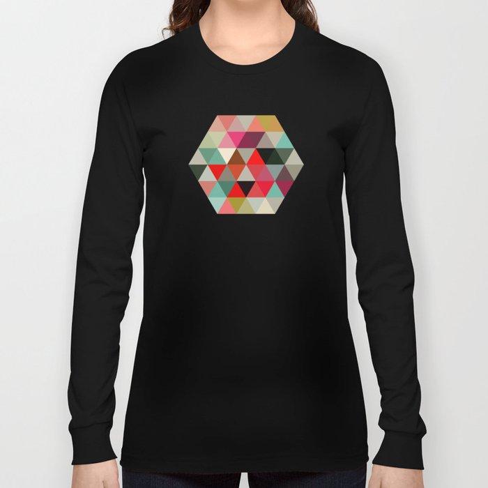 Geo Hex 03. Long Sleeve T-shirt