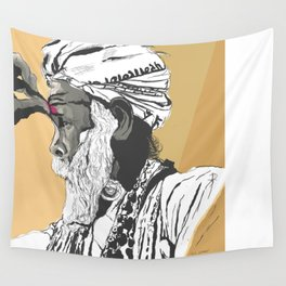Festival of Colors Patriarch Wall Tapestry