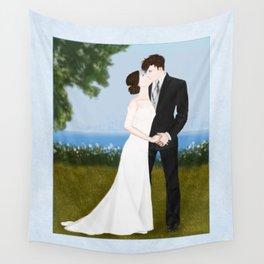 valentine kiss #1 Wall Tapestry