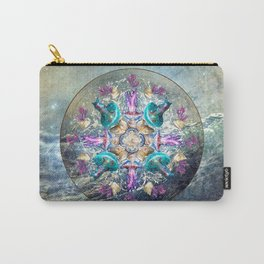 Ocean Jewels Jellyfish And Pearl Carry-All Pouch