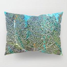 Ocean Sea Fan by Barbara Chichester Paintographer Pillow Sham