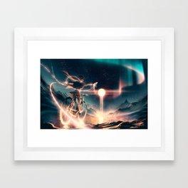 Lionhearted Framed Art Print