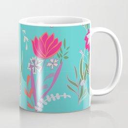 Petite Summer Turquoise Coffee Mug