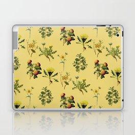 Wild Forest & Field Yellow Flower Herb Pattern Laptop & iPad Skin