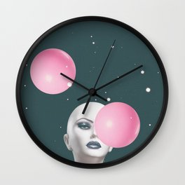 Not Impressed Wall Clock