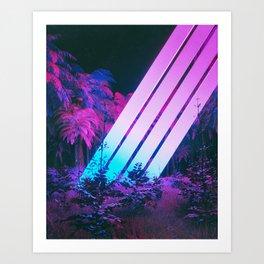 XEON_JUNGLE (everyday 2.28.18) Art Print