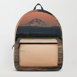 Mt. Hood Moonrise at Sunset Backpack