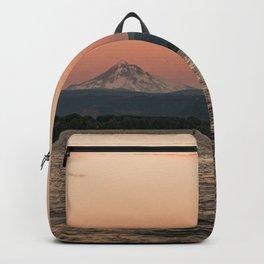 Mt. Hood Moonrise at Sunset Backpack