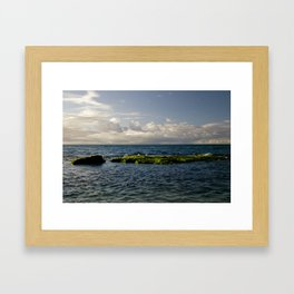 Baldwin Beach Framed Art Print