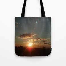 Australian Sunrise Tote Bag