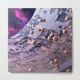 Sonar Metal Print