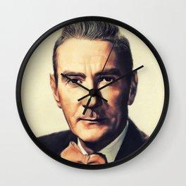 Clifton Webb, Vintage Actor Wall Clock