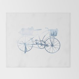 Bike Throw Blanket