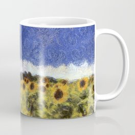 Sunflower Summers Van Gogh Coffee Mug