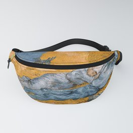 "Vincent van Gogh - Noon Rest From Work (A ""Copy"" of a Jean-François Millet Work) Fanny Pack"
