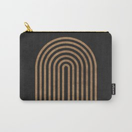 Perfect Equilibrium - Geometric Minimal - Black 1 Carry-All Pouch