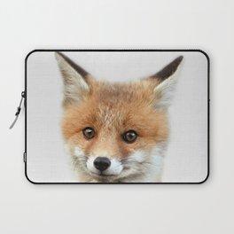 Fox print, Fox wall art, Nursery decor, Animal art, Baby animal prints Laptop Sleeve