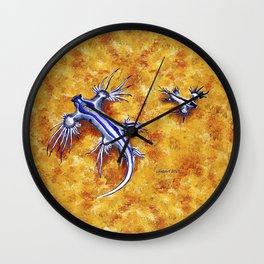 The Glaucus Buddies Wall Clock