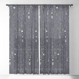 All The Magic Things Sheer Curtain