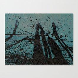 Family Shadows Canvas Print