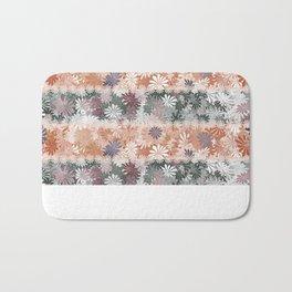 Floral Stripes Bath Mat