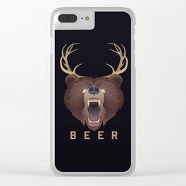 Beer Clear iPhone Case