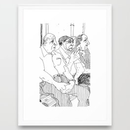 Waiting #3 Framed Art Print