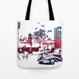 Fantasy city Tote Bag