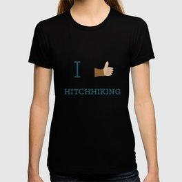 I heart Hitchhiking T-shirt