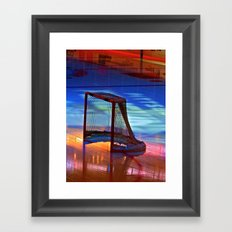 Empty Net Framed Art Print