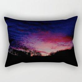 """""""Winter Sky"""" Rectangular Pillow"""