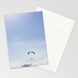 Surfing the sky Stationery Cards