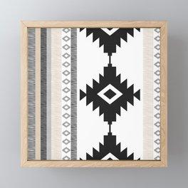 Pueblo in Tan Framed Mini Art Print