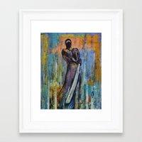 ninja Framed Art Prints featuring Ninja by Michael Creese