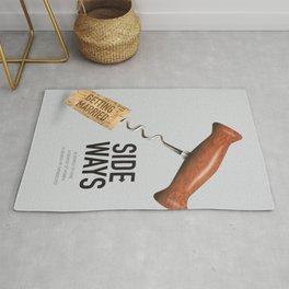 Sideways - Alternative Movie Poster Rug