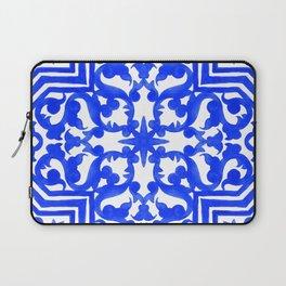 Portuguese azulejo tiles. Gorgeous patterns. Laptop Sleeve