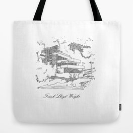 Frank Lloyd Wright Tote Bag