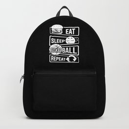 Eat Sleep Basketball Repeat - B-Ball Team Dunk Backpack