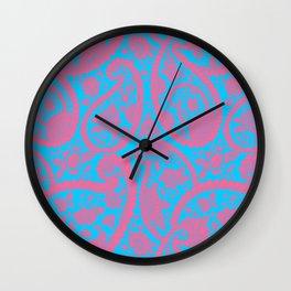 Seamless Art - 12 (3D Color Reflection) Wall Clock