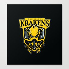 Iron Island Krakens Canvas Print