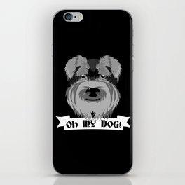 Oh My Dog iPhone Skin