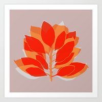 spice Art Prints featuring Blossom Spice by Garima Dhawan