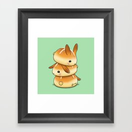 Hot Cross Bunbuns Framed Art Print