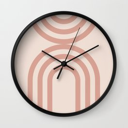 Abstract  Mid Century Modern art Wall Clock