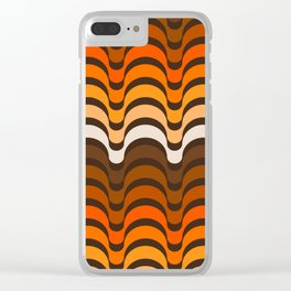 Golden Dips Clear iPhone Case