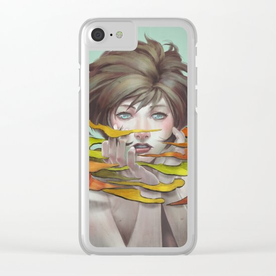 Anonymous33 Clear iPhone Case