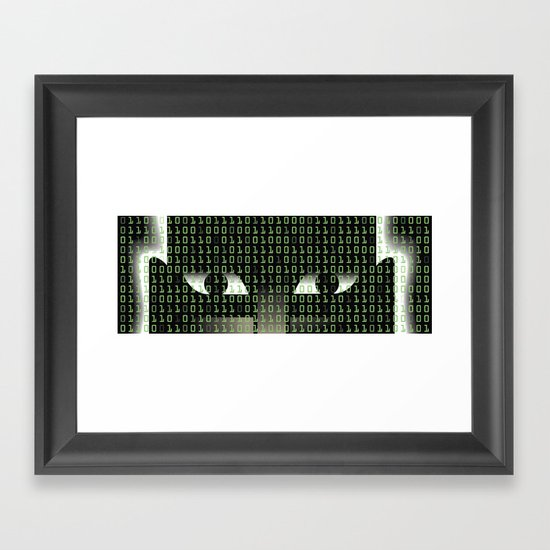 Hellish Hack Framed Art Print